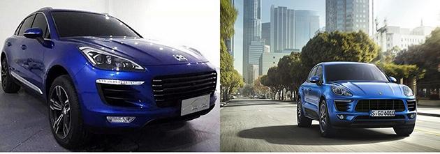 Porsche对山寨Macan的中国车厂采取行动!