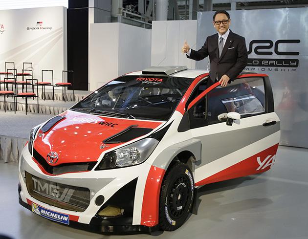 拉力传奇Tommi Makinen加盟Toyota WRC Team!