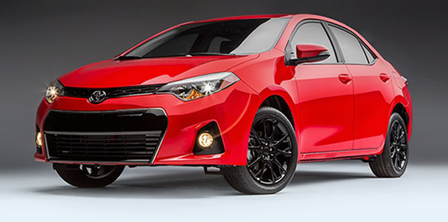 一篮一红!Toyota北美发布Camry和corolla Special Edition!