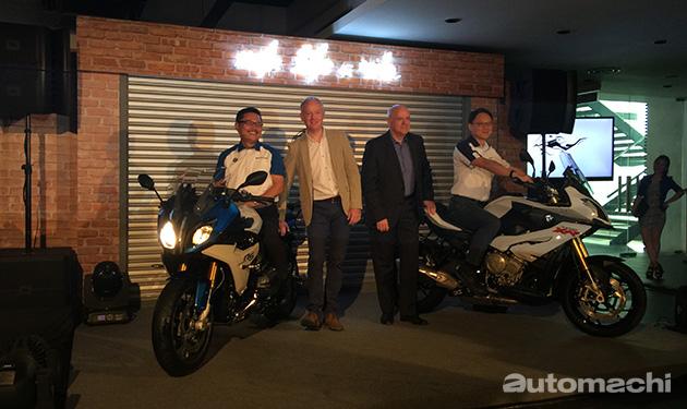 BMW本地发布最新重机S 1000 XR和R 1200 RS