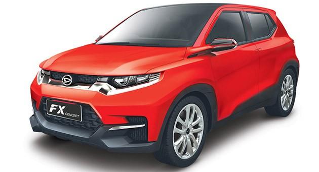 Daihatsu FX Concept亮相印尼车展!下一代Perodua Kembara?