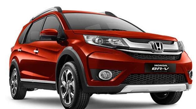 Honda BR-V印尼车展亮相!1.5L I-VTEC+CVT!