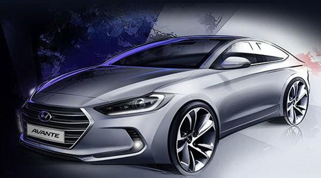 新世代Hyundai Elantra Coupe草图流出,帅到掉渣!
