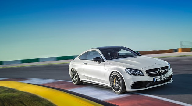 510hp轿跑!Mercedes-AMG C63 Coupe正式亮相!