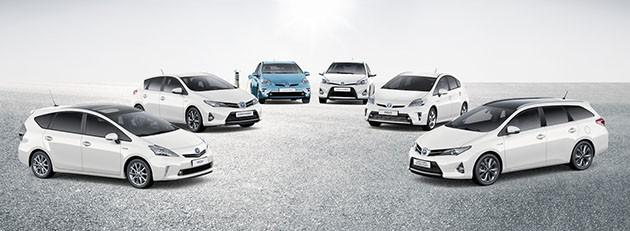 Toyota Hybrid车系全球销量破800万辆!