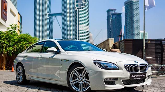 BMW 640i Gran Coupé正式在马来西亚发售!