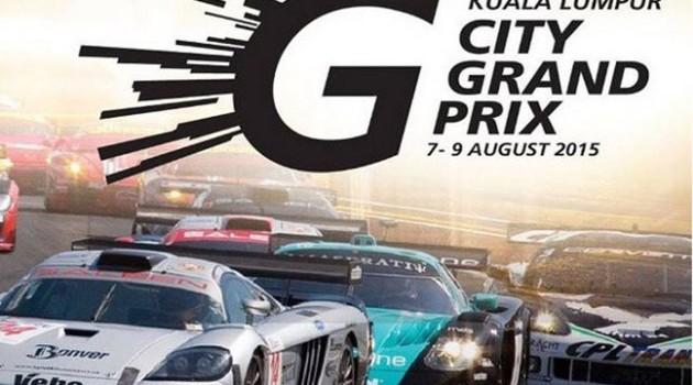 配合2015 KL Grand Prix一些路段将会暂时性关闭!