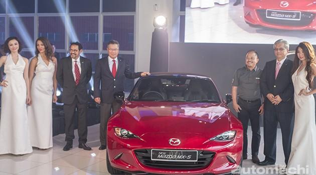 Mazda MX-5隆重发布!2.0 Skyacitiv-G+6速自排!