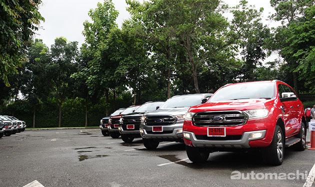 海外试驾!All New Ford Everest,极具质感的SUV!