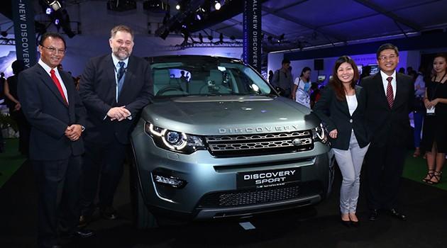 Land Rover Discovery Sport正式在马来西亚发布!
