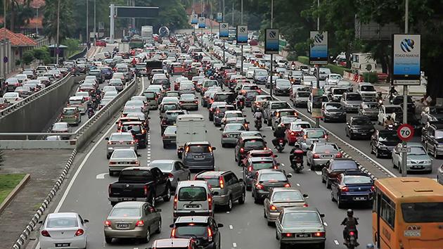 诸事八卦是导致马来西亚常塞车的罪魁祸首?