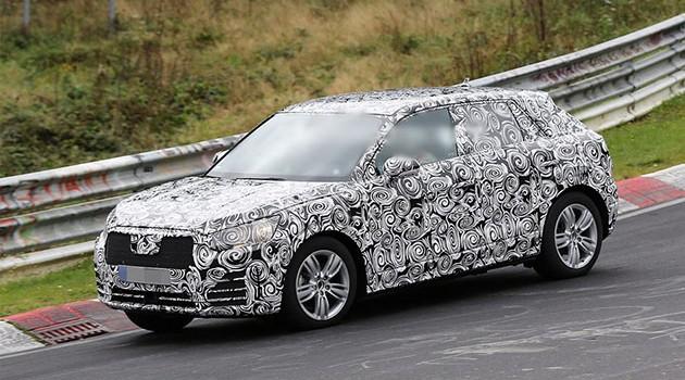越来越小?Audi新SUV Q2出现纽柏林赛道!