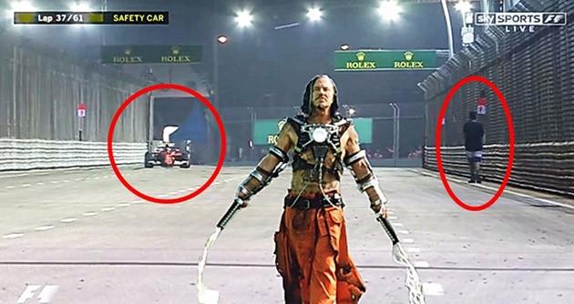 钢铁人2剧情出现在新加坡F1赛事中!