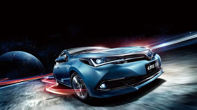 比普通版更帅气!Toyota Corolla Hybrid正式在中国开放预购!