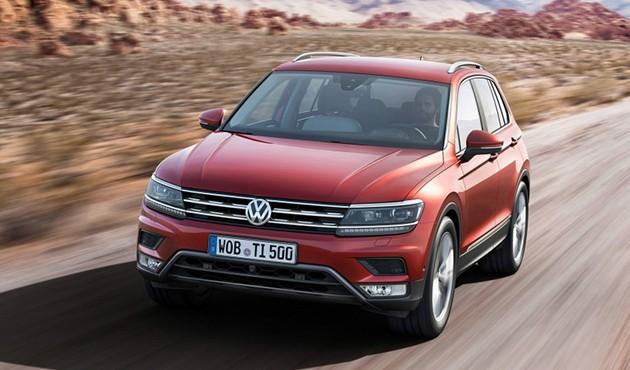 VW旗舰SUV Tiguan亮相法兰克福车展!