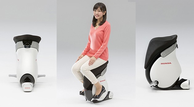 东京车展:不止是汽车!Honda发表全新单人载具!
