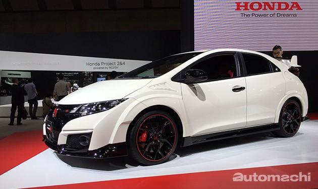 东京车展:日规Honda Civic Type R现身!开价15万令吉!