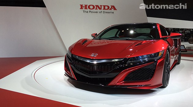东京车展:Honda NSX最终量产版终于现身!573hp最高马力震撼会场!