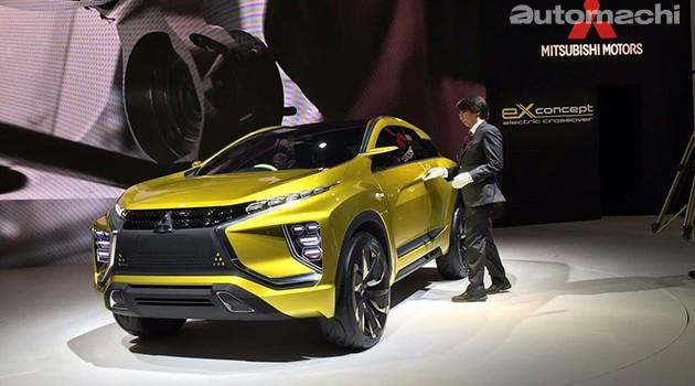 东京车展:Mitsubishi纯电SUV现身!eX Concept续航能力达到400km!