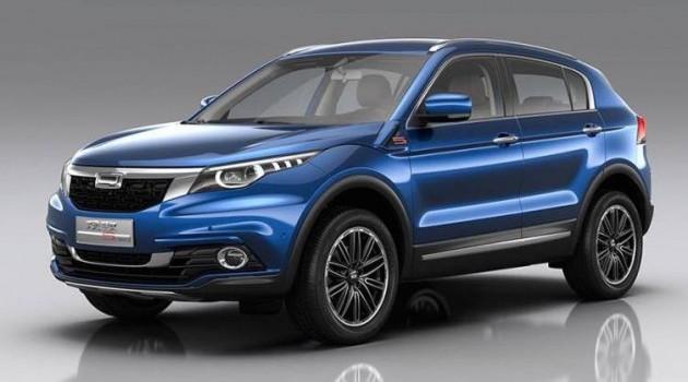 中国的骄傲!Qoros 5 SUV定妆照正式发布!