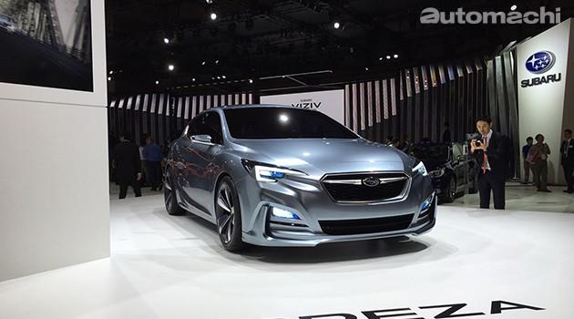 东京车展:新风格新平台!Subaru Impreza 5-Door Concept亮相!