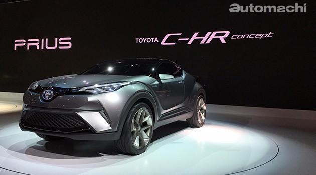 东京车展:Toyota CH-R明年投产!取代日规Rav4挑战Honda Vezel!