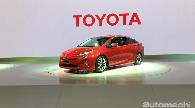 东京车展:不止省油还有操控!第4代Toyota Prius日本本土首演!