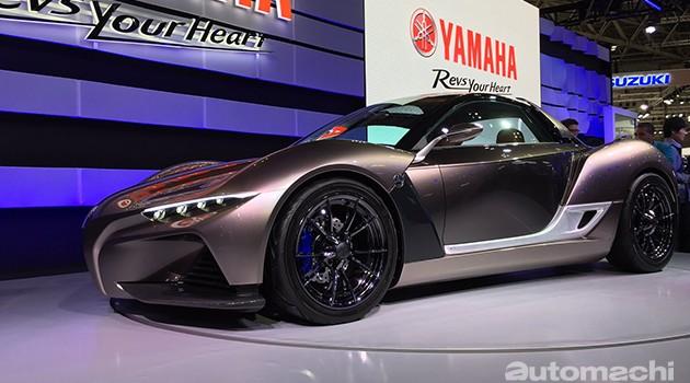 挑战Lotus轻量化霸主地位?Yamaha Sports Ride Concept coupe车重仅750kg!
