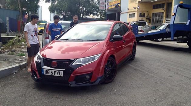 又一辆Honda Civic Type R来到马来西亚!
