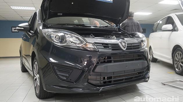 铺路进军欧洲市场?Proton展出Iriz 1.3 Turbo 手排测试车!