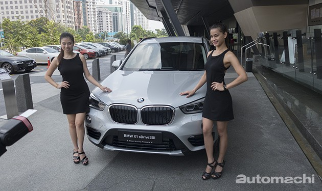 奢华跨界SUV!BMW 全新X1正式上市!