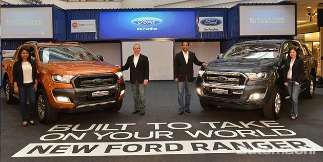 全新Ford Ranger本地上市!售价从 RM 91,588起跳!