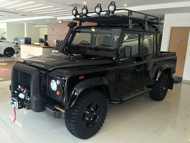 Land Rover Defender Limited Edition面市