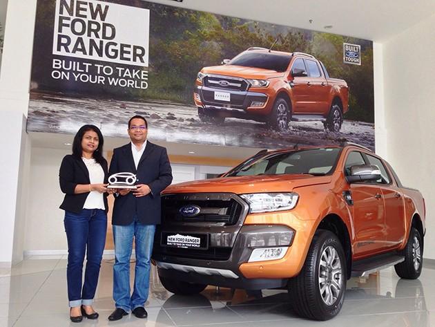 Ford Ranger WildTrak获得Car Of The Year大奖!