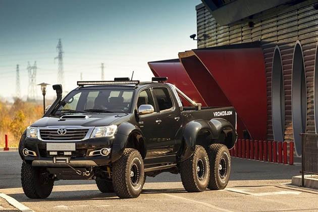 Hilux还可以再进化!Vromos爆改Toyota Hilux 6X6!