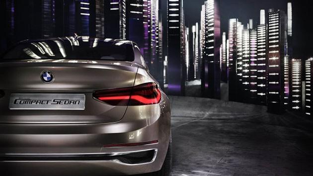 主打入门房车市场?BMW发布Compact Sedan concept!
