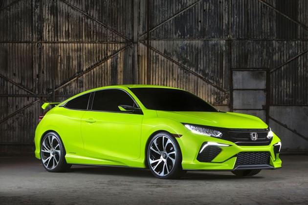 终于来了!Honda Civic Coupe确定洛杉矶车展做全球首发!