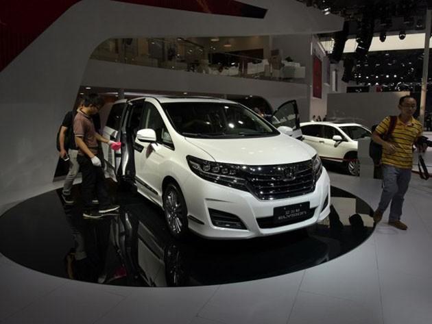 Honda Elysion,特别为大陆市场设计的中国版Odyssey?