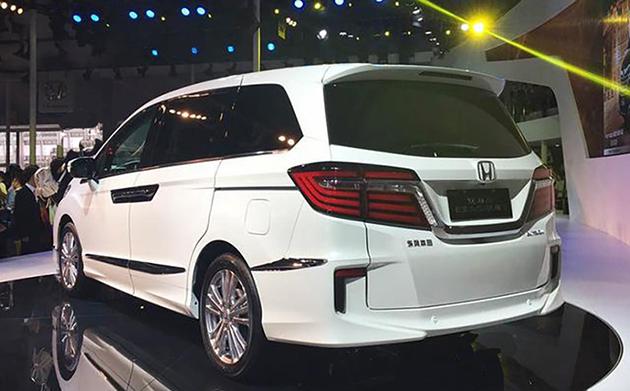 Honda Elysion,特别为大陆市场设计的中国版Odyssey?   automachi.com