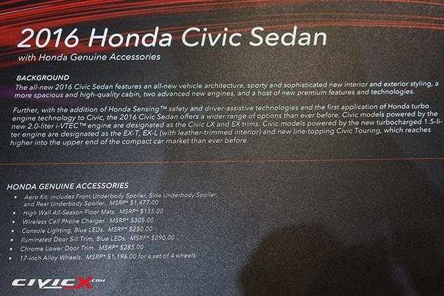 毒死你!Honda原厂亲自操刀Civic X的帅气套件!