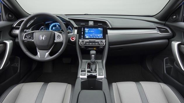 双门更帅气!Honda正式发表Civic Coupe!