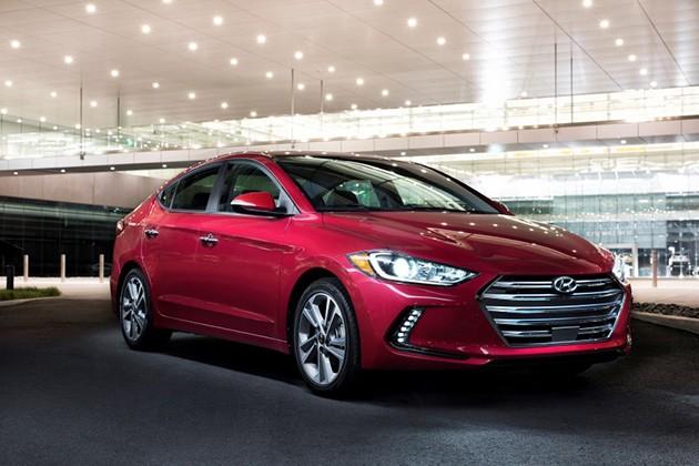 美规Hyundai Elantra洛杉矶车展发布!搭载全新1.4L涡轮增压引擎!