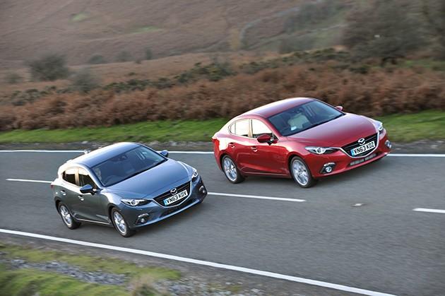 Mazda3 Skyactiv-D英国开卖!油耗达到惊人的26.3km/L!!!