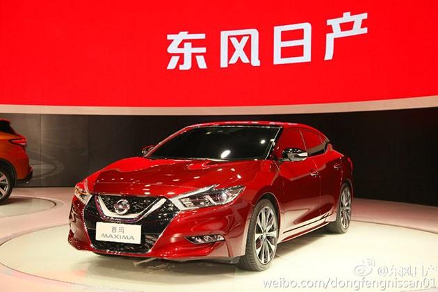 V-Shape上身更帅气!Nissan广州车展发布旗舰豪华房车Maxima!