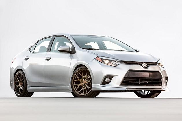 SEMA 2015:Toyota发表Camry和Corolla TRD Edition!