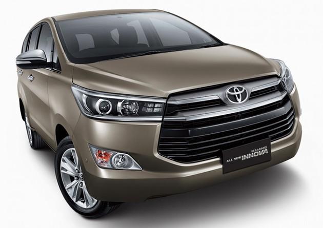 全新Toyota Innova大改款官方图正式现身!维持2.0汽油引擎和全新2.4柴油引擎!