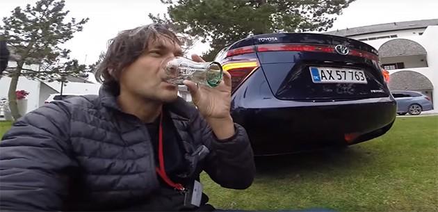 Toyota Mirai引擎排出来的水居然可以喝?