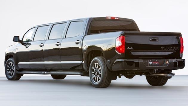 长就是霸气?Toyota发表Tundrasine Concept超长概念车!