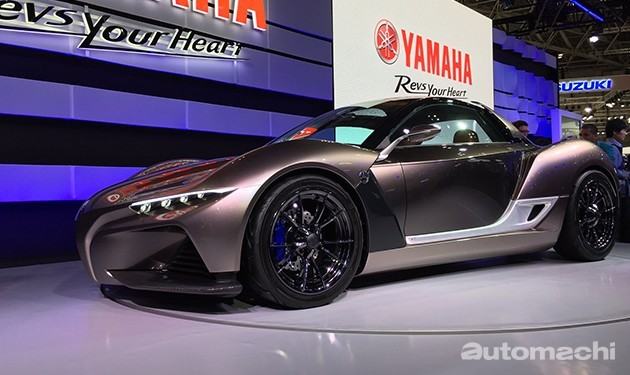 量产在即!Yamaha Sports Ride Concept coupe或搭载1.5L涡轮引擎!