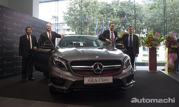 Mercedes-Benz亚庇新展示厅隆重开张!